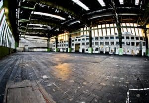 Hitler's Abandoned Tempelhof Airport - Nazi Architecture - Berlin - Hangar