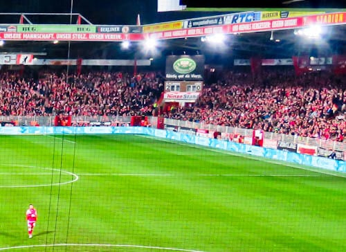 FC Union Berlin Stadium - Historic Scoreboard