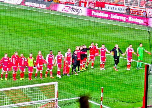 FC Union Berlin Stadium - Thank You to the Fans