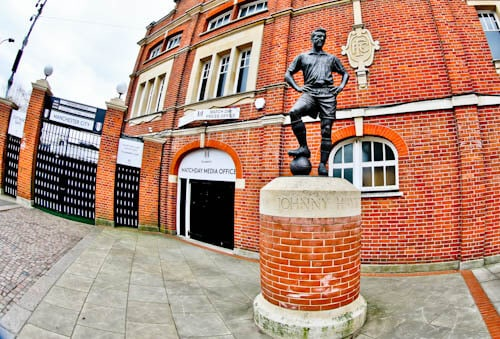 Craven Cottage - Fulham FC Stadium Tour - Johnny Haynes Statue