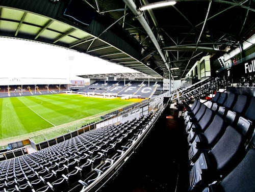 Craven Cottage - Fulham FC Stadium Tour - VIP Seats