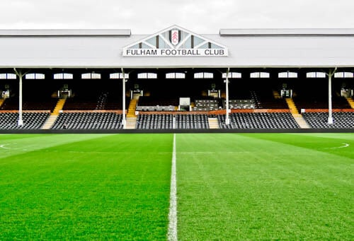 Craven Cottage - Fulham FC Stadium Tour - Pitch Side