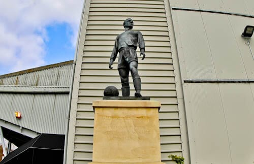 Craven Cottage - Fulham FC Stadium Tour - George Cohen Statue