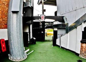 Craven Cottage - Fulham FC Stadium Tour - Players Tunnel