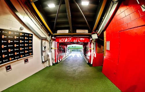 Old Trafford Stadium Tour - Theatre of Dreams - Players Tunnel