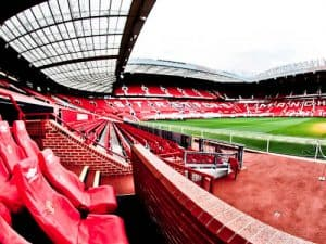 Old Trafford Stadium Tour - Theatre of Dreams - Pitch Side and Dugouts