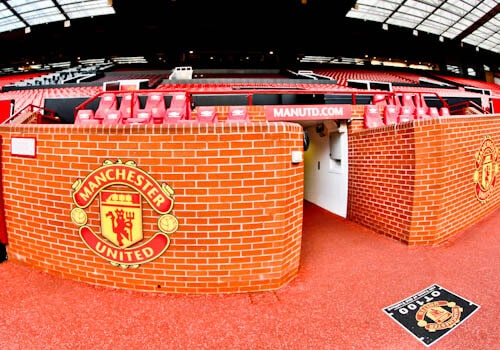 Old Trafford Stadium Tour - Theatre of Dreams - Time Capsule