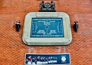 Old Trafford Stadium Tour - Theatre of Dreams - Munich Air Disaster Memorial