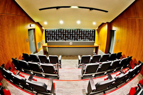 Old Trafford Stadium Tour - Theatre of Dreams - Press Room