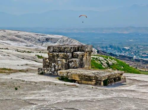 Pamukkale TUrkey - Paragliding