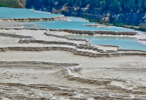 Pamukkale Turkey - Travertines