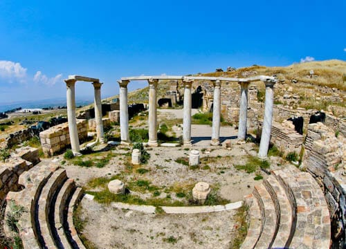Pamukkale Turkey - Old Theater