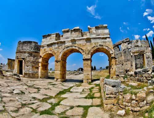 Pamukkale Turkey - Frontinus Gate