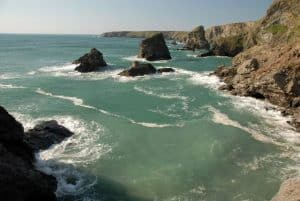 Nature Sights in the UK - Bedruthan Steps