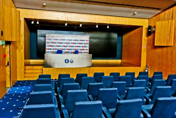 FC Porto Stadium Tour - Estadio Do Dragao - Press Room