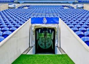 FC Porto Stadium Tour - Estadio Do Dragao - Players Tunnel