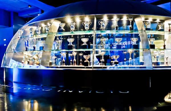 FC Porto Stadium Tour - Estadio Do Dragao - Trophy Cabinet