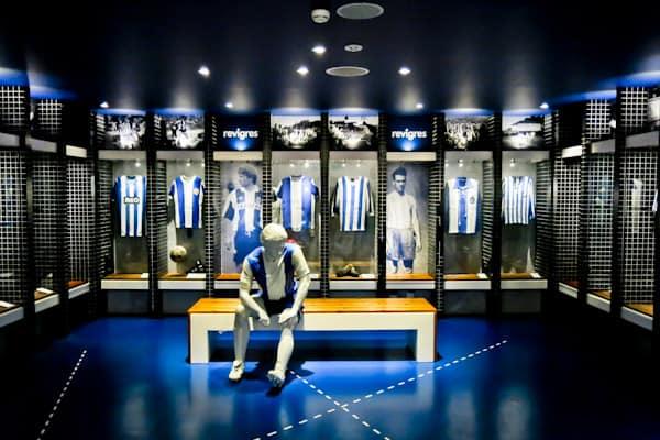 FC Porto Stadium Tour - Estadio Do Dragao - Home Team Dressing Rooms