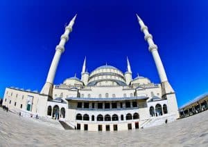 Things to do in Ankara Turkey - Kocatepe Mosque
