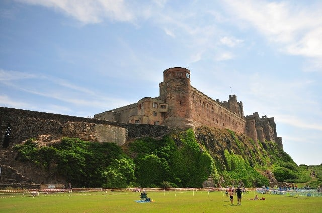 Nature sights in the UK - Bamburgh Castle