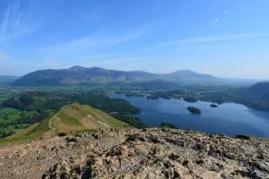 Nature sights in the UK - Derwent Water