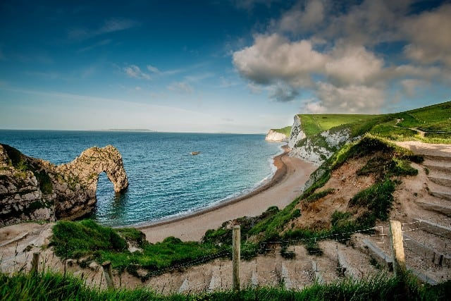 Nature sights in the UK - Durdle Door