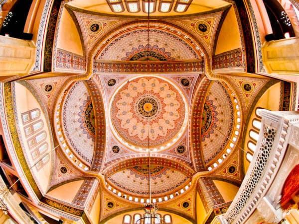 Things to do in Konya Turkey - Hacıveyiszade Mosque Interior