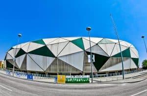 Konyaspor Stadium Tour - Konya Turkey - Location
