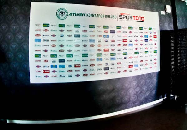 Konyaspor Stadium Tour - Konya Turkey - Flash Interview Rooms