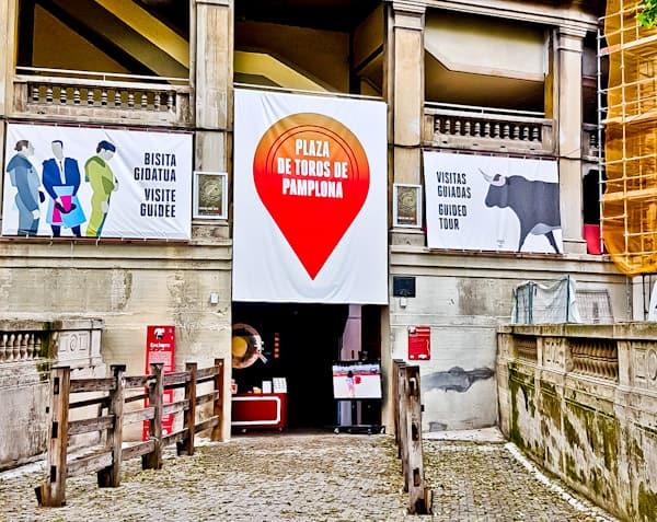Pamplona Bull Stadium Tour - Plaza de Toros - Meeting Point