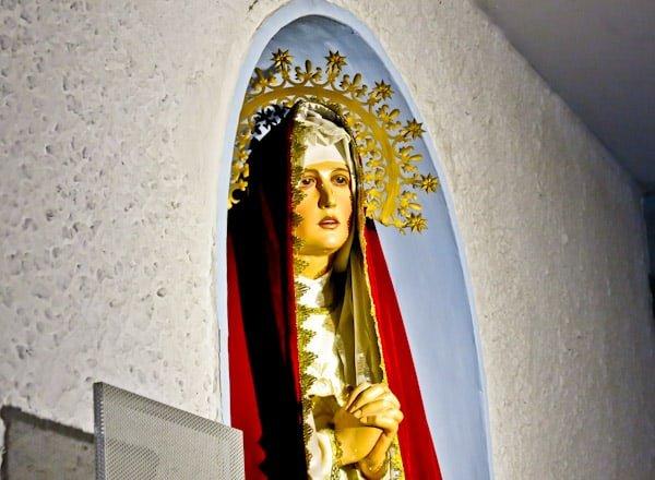 Pamplona Bull Stadium Tour - Plaza de Toros - Virgin Mary Shrine
