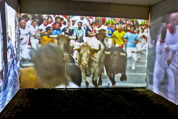 Pamplona Bull Stadium Tour - Plaza de Toros - Bull Run Video