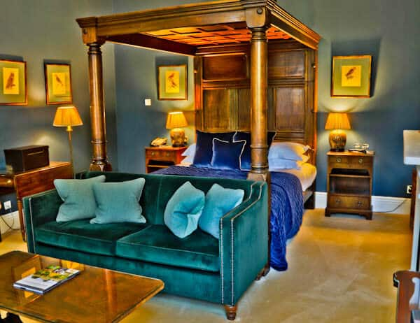 Rushton Hall Hotel and Spa - Travel Blogger Review - Guest Room - Lord Cullen