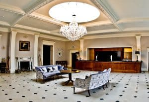 Rushton Hall Hotel and Spa - Travel Blogger Review - The Orangery Bar
