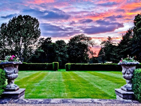 Rushton Hall Park at Sunset / Sunrise