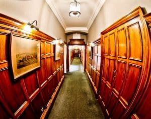 Rushton Hall Hotel and Spa - Travel Blogger Review - Historic Hallways