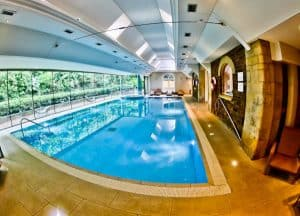 Rushton Hall Hotel and Spa - Travel Blogger Review - Spa - Swimming Pool