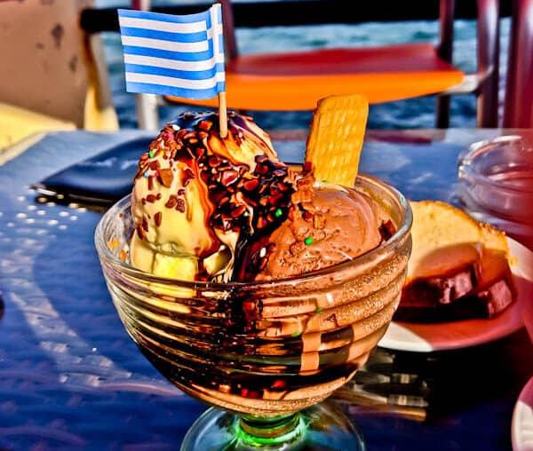 Traditional Greek Bakery Experience - Lipsi Island - Kairi Bakery - Ice Cream