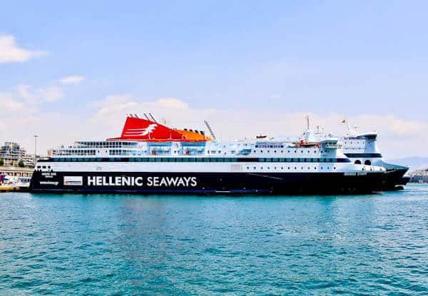 How to get to Lipsi Island from Piraeus