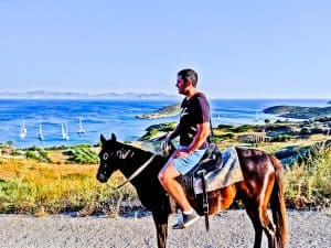 Things to do on Lipsi Island - Greece - Horse Riding