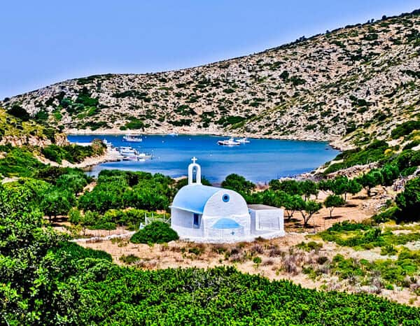 Things to do on Lipsi Island - Greece - Traditional Greek Churches