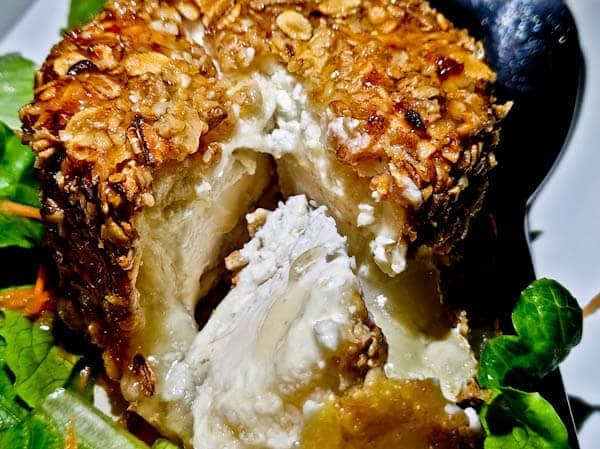 Manolis Tastes - Greek Restaurant Bar Cafe - Lipsi Island - Starter - Goats Cheese
