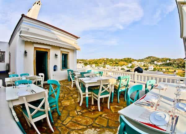 Manolis Tastes - Greek Restaurant Bar Cafe - Lipsi Island - Location