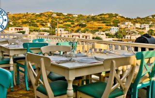 Manolis Tastes - Greek Restaurant Bar Cafe - Lipsi Island