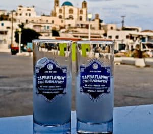 Greek Ouzeria Restaurant Experience + Photos - Ouzo with a View