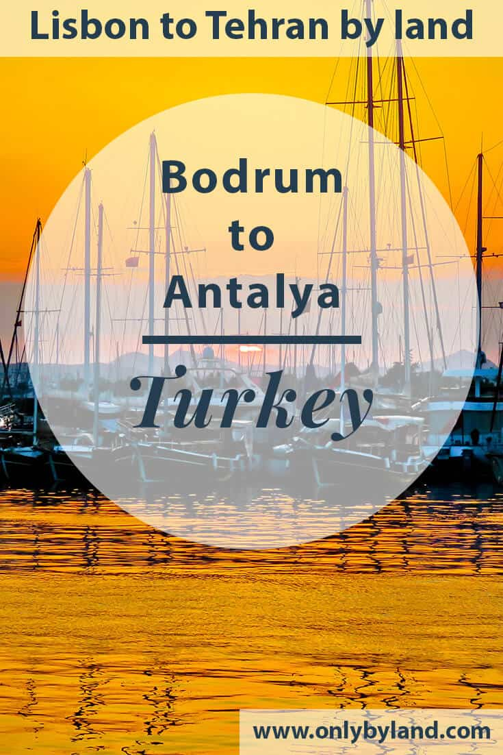 Things to do in Bodrum Turkey + Ancient Wonders