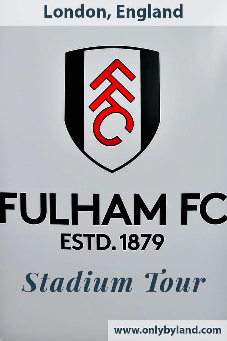 Craven Cottage – Fulham FC Stadium Tour