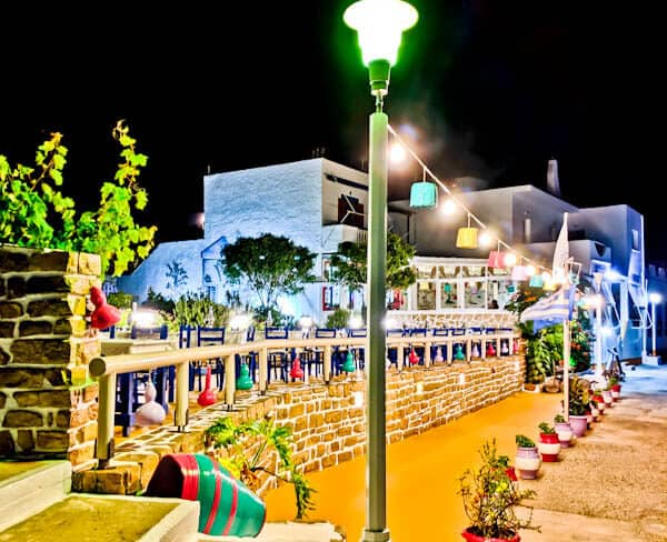 Yiannis Restaurant - Greek Food - Lipsi Island Greece