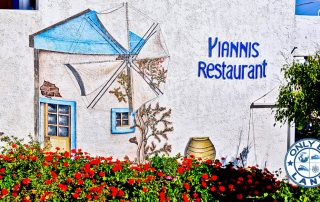 Yiannis Restaurant - Greek Food - Lipsi Island Greece