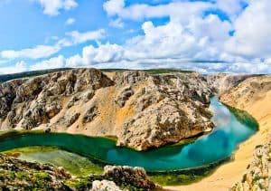 What to do in Zadar County Croatia - Zrmanja River Canyon